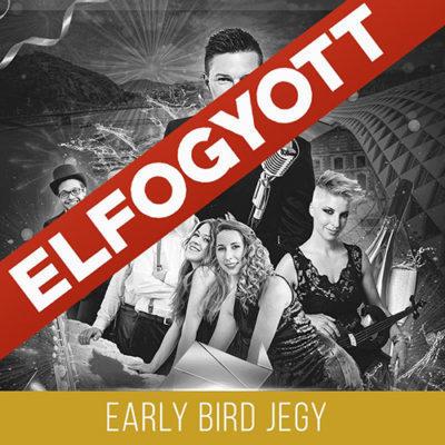 Budapest SWING JAZZ FUNK Szilveszter Early Bird Jegy