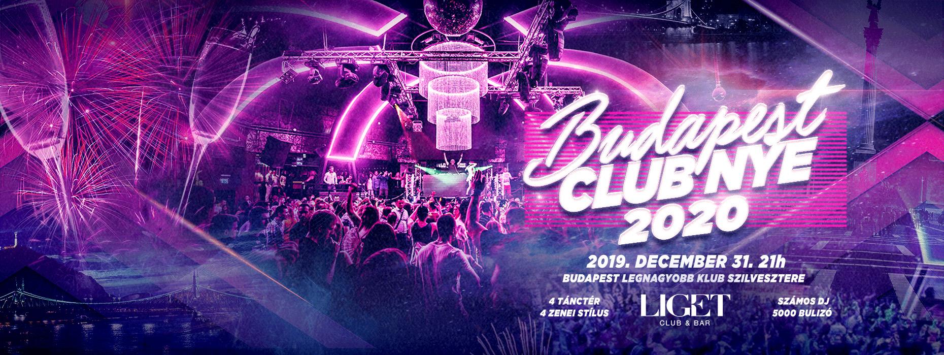 BUDAPEST LIGET CLUB NYE PARTY