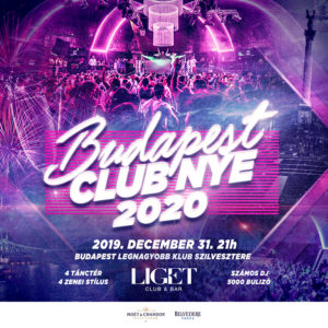 BUDAPEST LIGET CLUB NYE PARTY