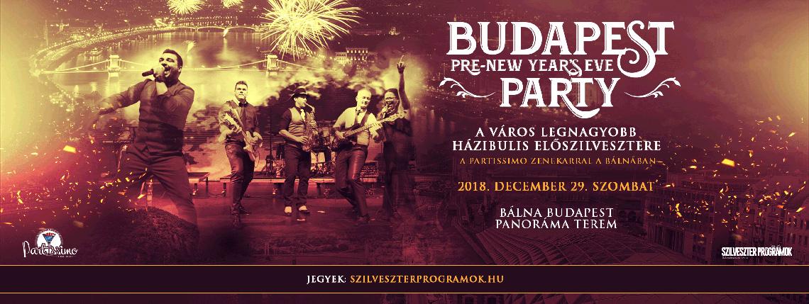 Budapest Előszilveszter a Bálnában
