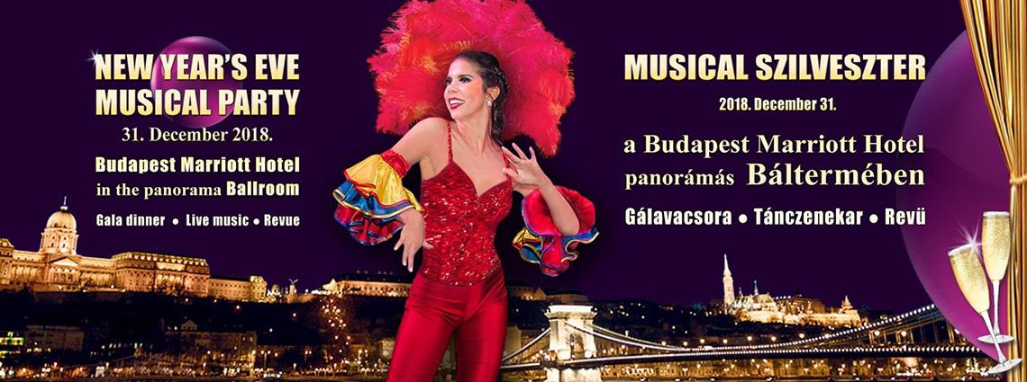 Musical Szilveszter Budapest 2019 – Marriot Hotel