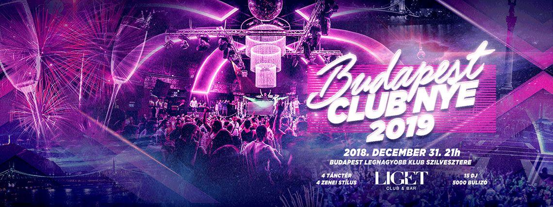 NYE 19 Budapest - A város legnagyobb klub Szilvesztere
