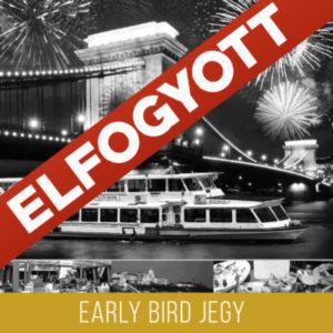 Szilveszteri sétahajózás - Early Bird Jegy